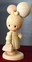 You Are My Main Event Precious Moments 115231 Girl with Balloons Figurin... - $24.99