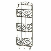 Vintage Charm Triple Wall Rack - $60.99