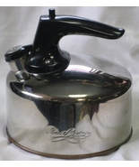 Revere Ware Whistling Tea Kettle Copper Bottom Stainless Top - $39.99