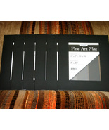 Lot of 6 Black Art Mat 8x10 for Crafts and Scrapbooking - $9.00