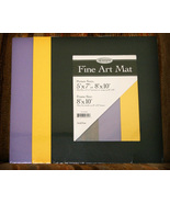 Assorted Art Mats 8x10 for Crafts and Scrapbooking - $5.00