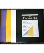 Assorted Art Mats 8x10 for Crafts and Scrapbooking - $6.00