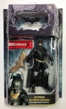 NEW Batman Begins The Dark Knight Action Figure w/ Crime Scene Evidence ... - $20.63