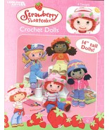Strawberry Shortcake Dolls Crochet Patterns 4 Designs 14 In Tall Toys Girls - $42.49