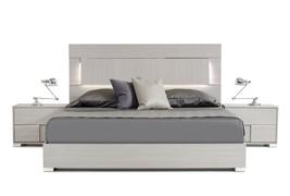 Modrest Ethan Italian Modern Grey Bed - $1,049.00+
