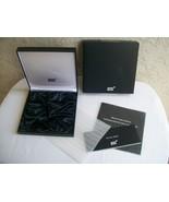 Empty Box Montblanc Meisterstuck Solitaire Sterling Pen 11755 - $39.98