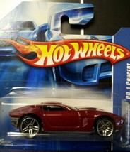 Hot Wheels 2006 Red Ford Shelby GR-1 Concept #206 short card - $4.75