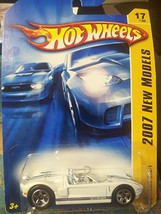Hot Wheels 2007 New Models: Ford GTX1 WHITE (17 of 36 - 017/180) - $2.97