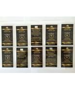 10 x GRAINMINT 0.5 Grain 24k .999 Gold Barter Cards In COA - 5 GRAINS TOTAL - €46,50 EUR