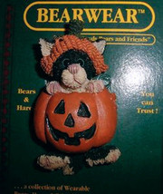 "Boyds BearWear ""Punkin' Puss"" #26014-Resin Pin-Halloween Cat- New-Retired - $9.99"