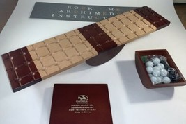 ROCK ME ARCHIMEDES Strategic Wooden Board Game w/  Marbles the Brain Sto... - $39.60