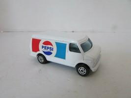DIECAST CAR CORGI JUNIORS U.S. VAN PEPSI LOGO   MADE IN GR. BRITAIN  H2 - $8.61