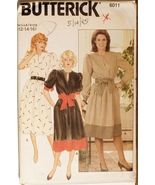 Butterick 6011 Misses Dress size 12-14-16 sewing pattern - $6.75