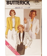 Butterick 3762 Misses Jacket size 6-8-10 sewing pattern - $6.75