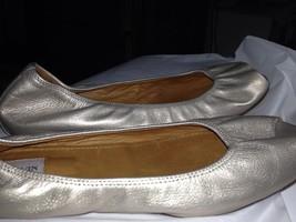 Fashionista Fave Lanvin Super Soft Peep Toe Leather Ballerina Flats 42 11 1/2 - $295.10