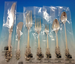 Grande Baroque by Wallace Sterling Silver Flatware Set Service 70 pc Dinner New - $6,250.00