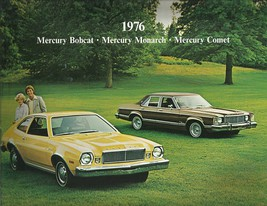 1976 Mercury MONARCH BOBCAT COMET sales brochure catalog US 76 Ghia - $8.00