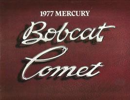 1977 Mercury BOBCAT COMET sales brochure catalog US 77 Ghia - $8.00