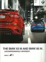 2011 BMW X5 M X6 M sales brochure catalog US 11 X5M X6M - $12.00