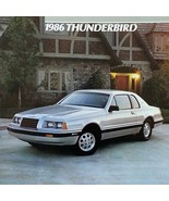 1986 Ford THUNDERBIRD sales brochure catalog US 86 Turbo Coupe TC elan - $8.00