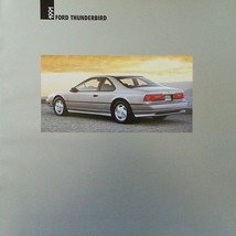 1991 Ford THUNDERBIRD sales brochure catalog US 91 LX SC Super Coupe - $8.00