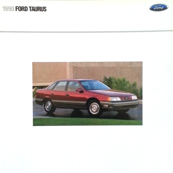 Primary image for 1990 Ford TAURUS sales brochure catalog US 90 LX GL SHO