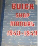 1948 1949 GM Buick All Series Service Shop Repair Manual NEW REPRINT - $75.24