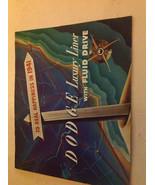 1941 DODGE LUXURY LINE W FLUID DRIVE SALES BROCHURE ORIGINAL NO REPRINT 41 - $30.02