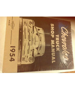 1954 CHEVY TRUCK TRUCKS Chevrolet Service Shop Repair Manual NEW RS56SM x - $59.40