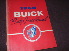 1960 BUICK ELECTRA INVICTA LE SABRE LESABRE BODY Service Shop Repair Man... - $64.88