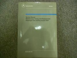 1959 1965 MERCEDES Maintenance Unit Replacement Passenger Cars Service M... - $134.63