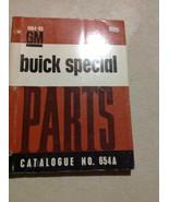 1964 1965 BUICK SPECIAL Parts Catalog Catalogue Manual OEM Book CDN RARE... - $148.45