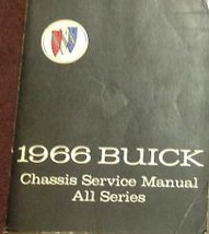 1966 GM Buick All Models Chassis Service Shop Repair Workshop Manual Bra... - $99.00