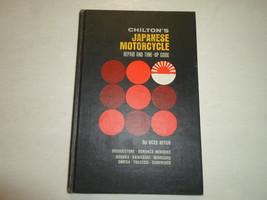 1969 Chiltons Japanese Motorcycle Repair & Tune Up Guide Manual DEALERSH... - $29.69