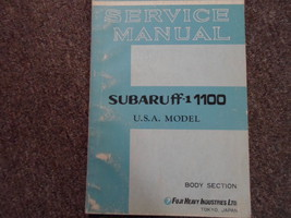 1970 1971 Subaru 1100 Body Service Repair Shop Manual FACTORY OEM BOOK - $27.67