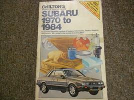 1970 1984 Subaru Tune Up Service Repair Shop Manual FACTORY OEM BOOK 71 ... - $23.72