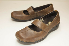 Merrell US 7 Brown Mary Jane Flats Women's EUR 37.5 - $32.00
