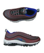 Nike Air Max 97 Night Maroon Racer Blue Size 9 Mens Shoes 921826 012 New - $133.60