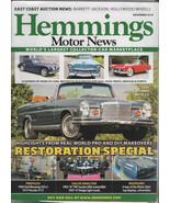 Hemmings Motor News 2018 - Restoration Special - $2.50