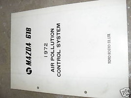 1972 Mazda 618 Service Shop Repair Manual OEM Air - $6.58