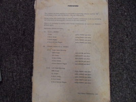1972 Subaru 1300 1400 Body Service Repair Shop Manual FACTORY OEM BOOK 72 - $14.22