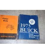 1973 Buick CENTURY ELECTRA 225 LUXUS REGAL Service Repair Shop Manual SE... - $178.20