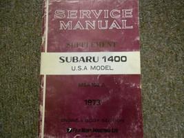 1973 Subaru 1400 Service Repair Shop Manual Factory Oem Book 73 - $29.65