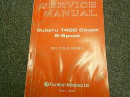 1974 Subaru 1400 5 Speed Service Repair Shop Manual FACTORY OEM BOOK 74 - $14.80