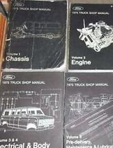 1975 Ford F100 F-150 250 350 Econoline Truck Service Shop Repair Manual ... - $168.39