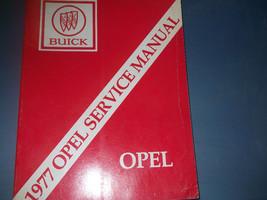 1977 Buick Opel Service Repair Shop Manual FACTORY BOOK OEM 77 - $10.02