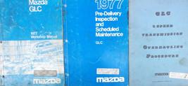 1977 Mazda Glc Service Repair Shop Manual  Factory Oem Set Book Speed Overhaul - $14.10