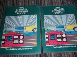 1978 Chrysler FIFITH AVENUE AVENGER NEWPORT Service Repair Shop Manual Set - $77.21