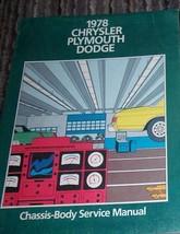 1978 Chrysler REGAL NEW YORKER LEBARON CORDOBA Electrical Service Shop M... - $49.49