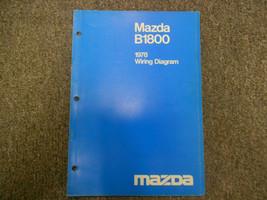 1978 Mazda B1800 Electrical Wiring Diagram Shop Manual Factory Oem Book 78 Deal - $14.84